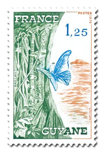 Régions de France. - Guyane -