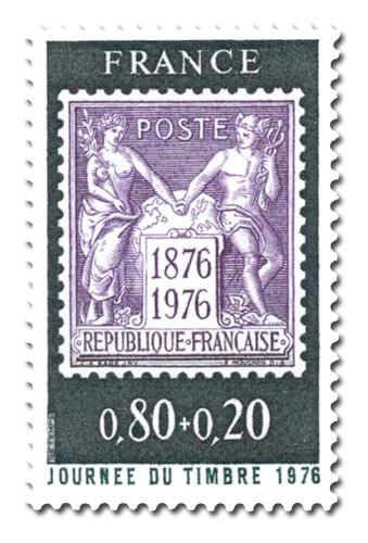 Journée du timbre 1976