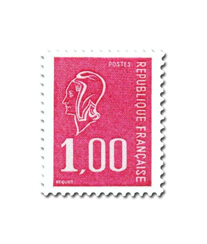 Marianne de Béquet -  (Taille douce rotative).