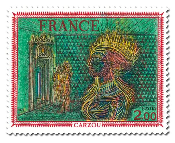 Carzou - Oeuvre originale.
