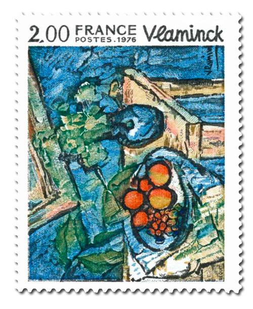 Nature morte  de Maurice Vlaminck (1876-1958)