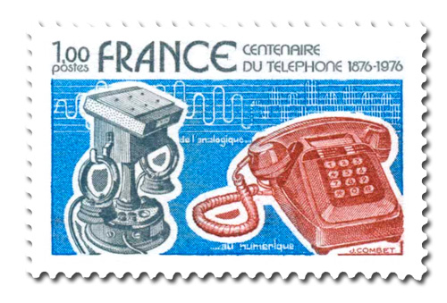Centenaire de la Première liaison téléphonique.