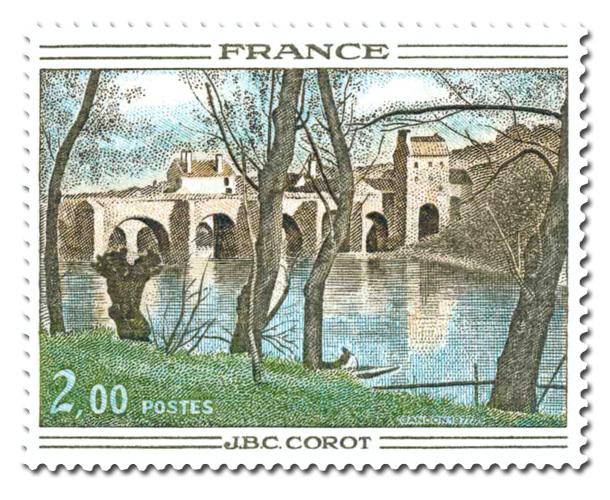 Camille Corot (1796-1875) - Le Pont de Mantes.