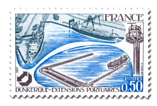 Extensions portuaires de Dunquerke.