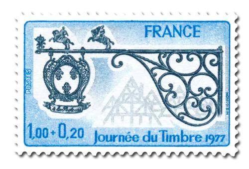 Journée du timbre 1977