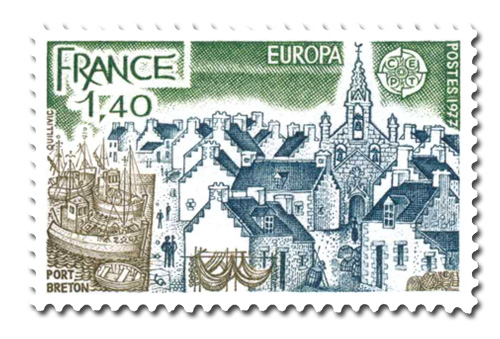 Série Europa 1977  - Port Breton.