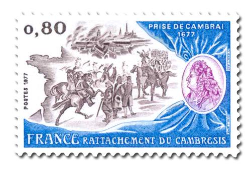 Rattachement du Cambrésis.