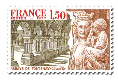 Abbaye de Fontenay XII° Siècle ( Côte-d'Or)