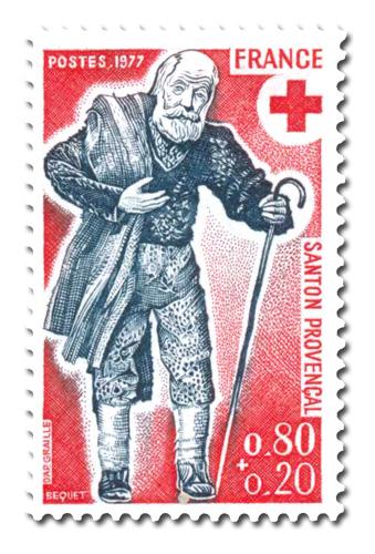 Au Profit de la Croix-Rouge - Santons de Provence -