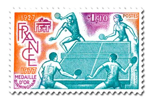 Tournois du cinquantenaire de la Fédération duTennis de table