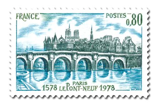 Le Pont-neuf de Paris