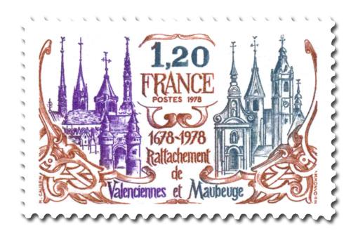Rattachement de Valenciennes et Maubeuge.