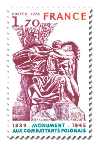 Monument aux Combattants Polonais - 1939 - 1945