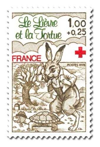 Au profit de la Croix-Rouge - Fables de La Fontaine.