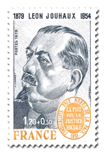 Léon Jouhaux ( 1879 - 1954 )