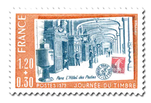 Journée du timbre 1979
