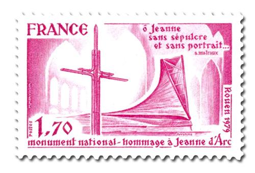 Hommage à Jeanne d'Arc  - Monument national