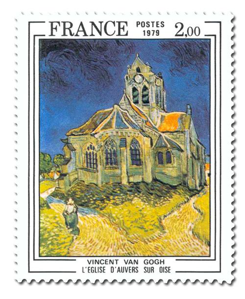Eglise d'Auvers-sur-Oise  -  Vincent van Gogh ( 1853 - 1890 )