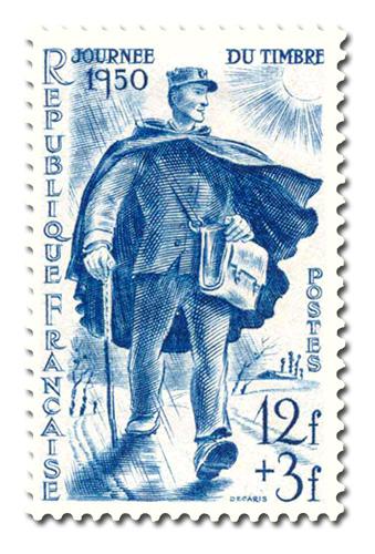 Journée du timbre 1950