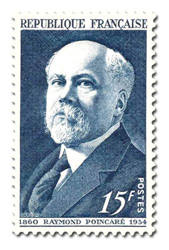 Raymond Poincaré (1860 - 1934)