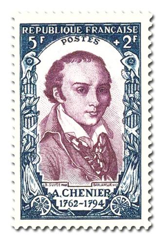 André Marie de Chénier (1762 - 1794)