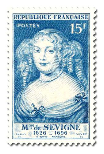 Madame de Sévigné (1626 - 1696)