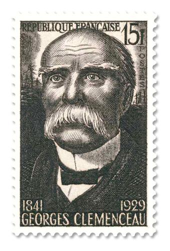 Georges Clemenceau (1841 - 1929)   - Armistice de 1918