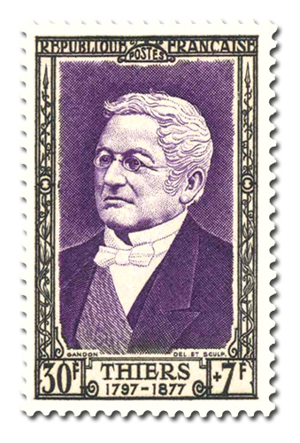 Adolphe Thiers (1797 - 1877)