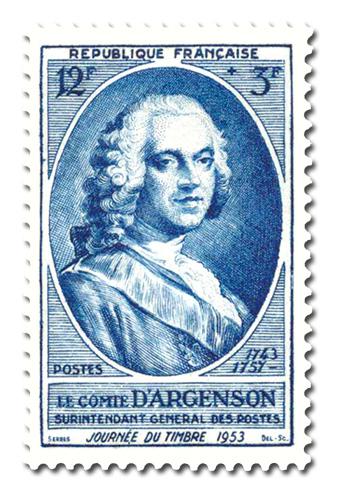 Journée du timbre 1953