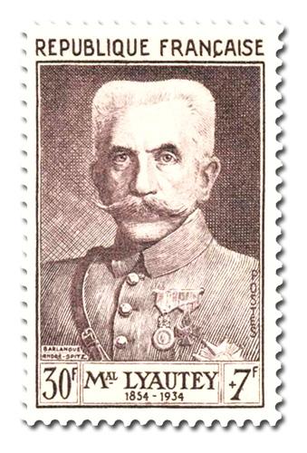Maréchal Hubert Lyautey (1854 - 1934)