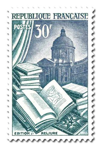 Edition, Reliure et Institut de France
