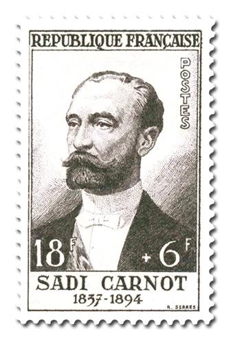 Marie-François Sadi Carnot (1857 - 1894)