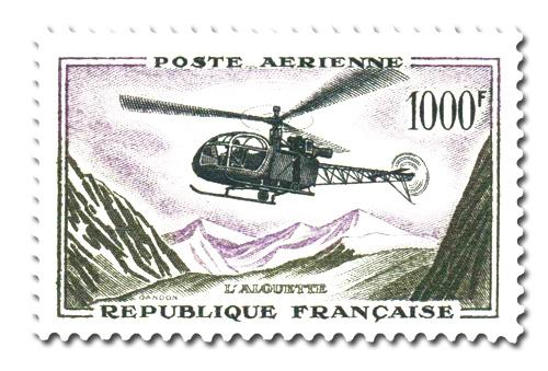 Hélicoptère  Alouette