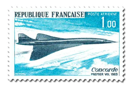 Concorde - Premier vol de l'avion supersonique.