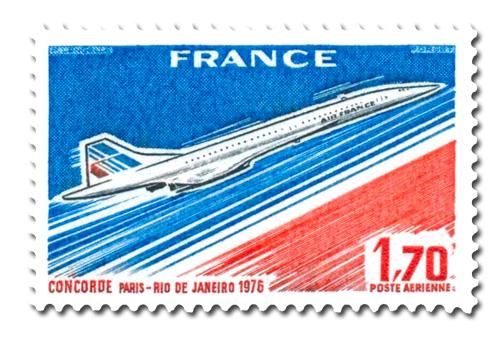Paris - Rio de Janeiro. Mise en service du Concorde