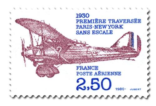 Première traversée Paris-New-York sans escale.