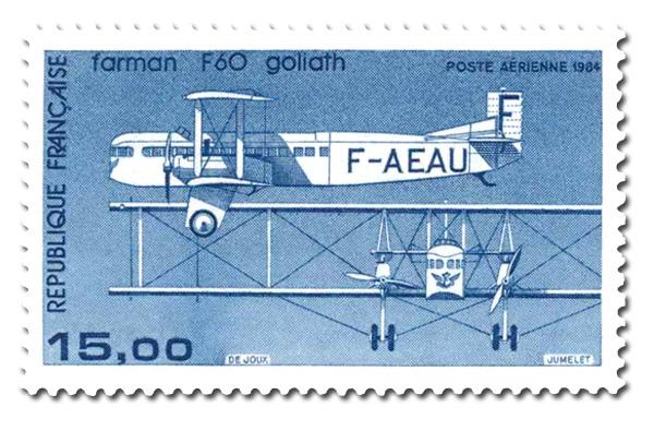 Avion bimoteur Farman F 60 Goliath