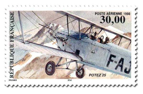 Biplan Potez 25