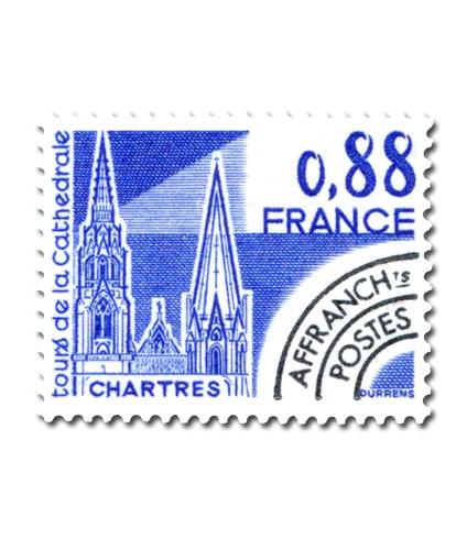 Monuments historiques  - Tours de la Cathédrale de Chartres