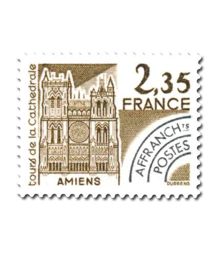 Monuments historiques  - Tours de la Cathédrale d'Amiens