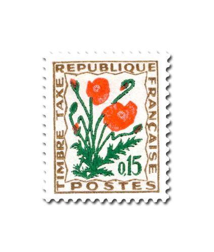 Fleurs des champs  - Coquelicot.