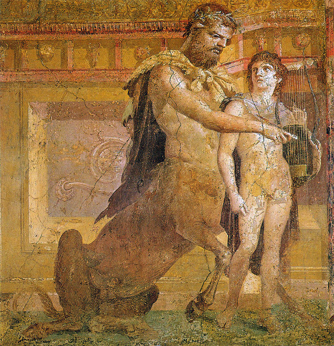 Hercules of ancient greece and the modern male hero