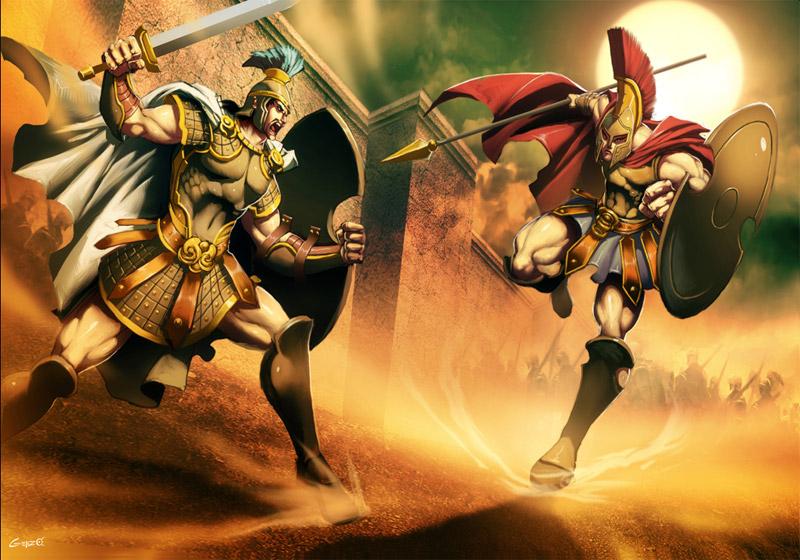 50c56abc4203 Achille héros de l iliade et vainqueur d Hector - Mythologie grecque ...
