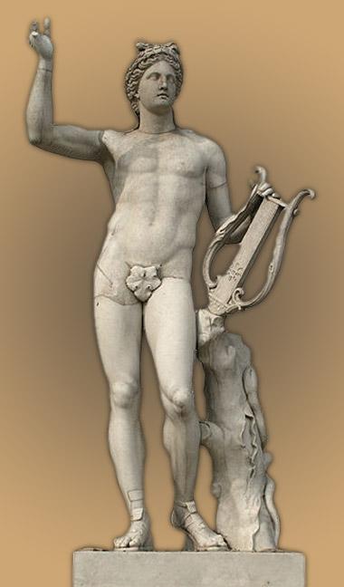 Image De Apollon apollon dieu de l'olympe - mythologie grecque et mythes grec